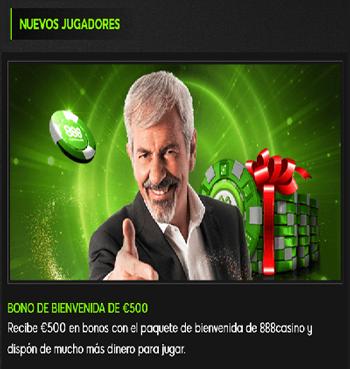 888 bono bienvenida