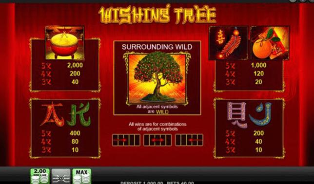 Whising tree