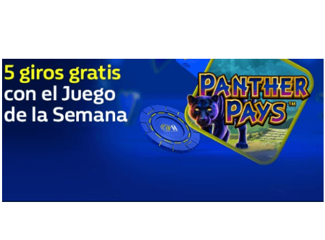 tragaperras de Playtech Panther Pays william hill