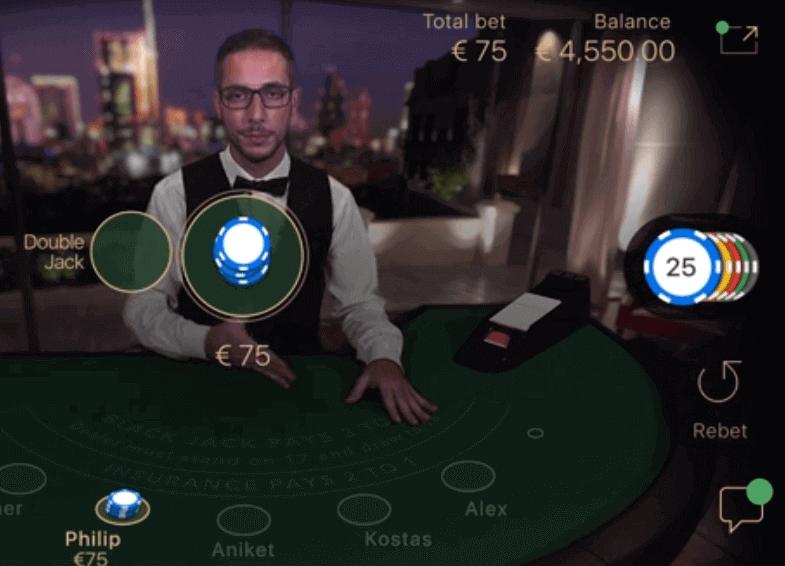 Live casino gratis
