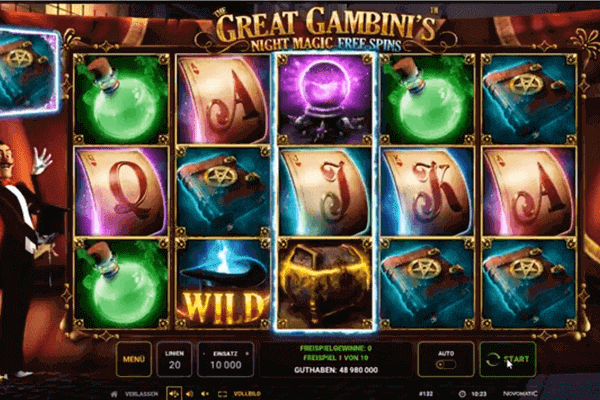 The Great Gambinis Night Magic