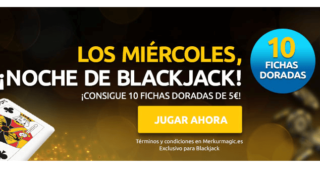 blackjack miercoles merkurmagic