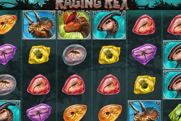 Tragaperras Raging Rex