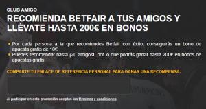 bono 10€ Betfair