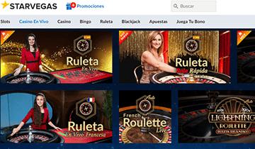 starvegas juegos de casino en vivo