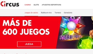 circus juegos de casino online