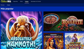 william hill casino online españa