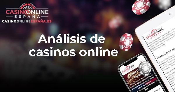 Análisis de casinos online