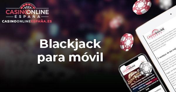 Blackjack para móvil