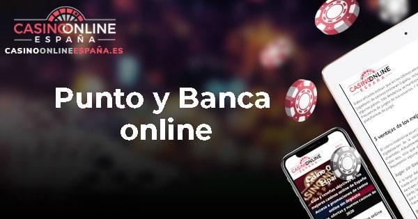 Punto y Banca online