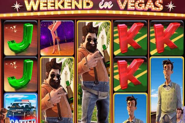 Tragaperras Weekend in Vegas