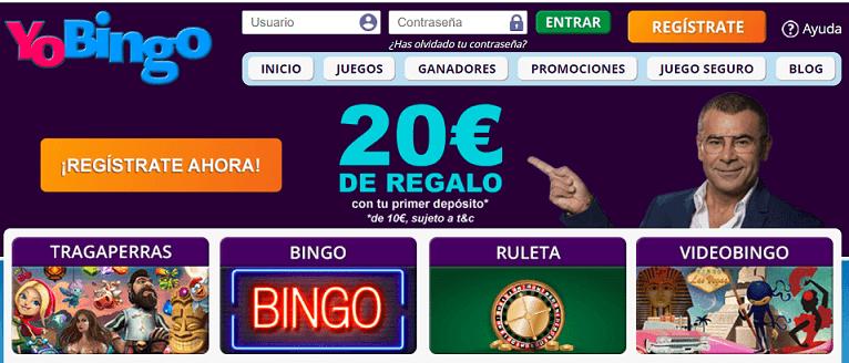 Yobingo casino