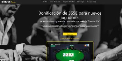 bet365 poker analisis