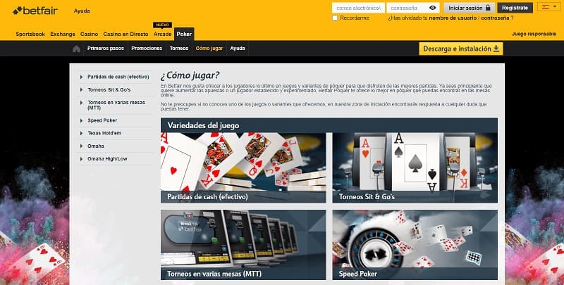 betfair poker analisis