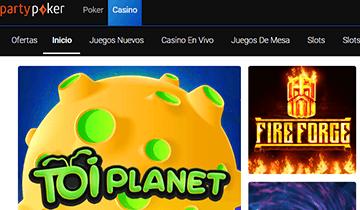 juegos de casino PartyPoker