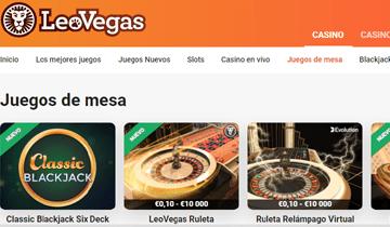 leo vegas juegos de casino online