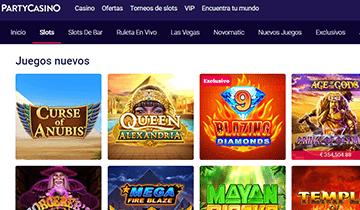 partycasino slots online