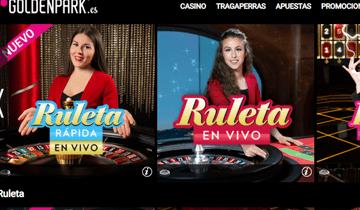 goldenpark casino en vivo