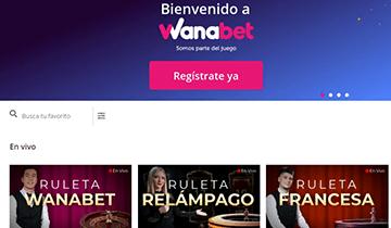 wanabet juegos en vivo para casino