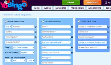 yobingo salas de bingo online