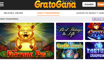 gratogana tragaperras online