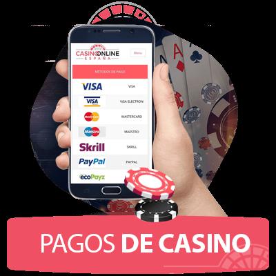 metodos de pago casinos